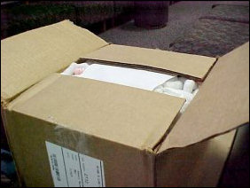 So let's see what package #1 contains...