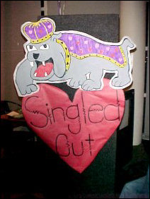 The Duke Dog is love-struck... come on over to Singled Out!