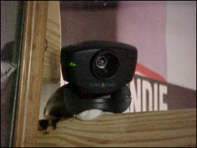 Another glamour shot of the Web Cam...
